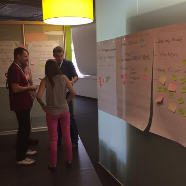 Госование на ярмарке стартапов