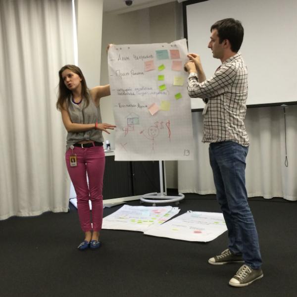 Разбор обратной связи на ярмарке стартапов