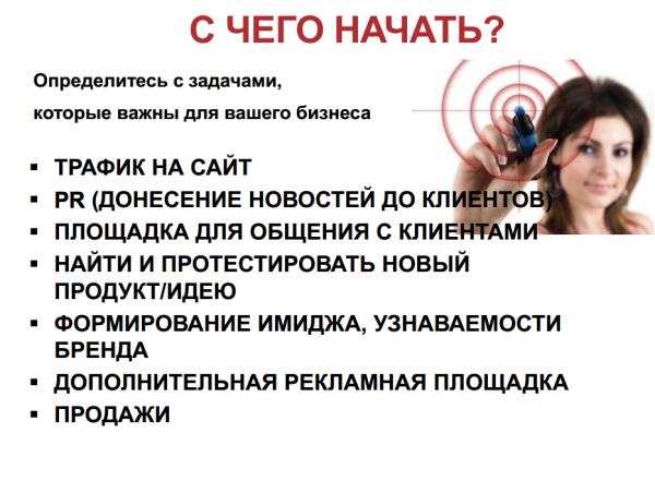 SMM от Юлии Денисовой